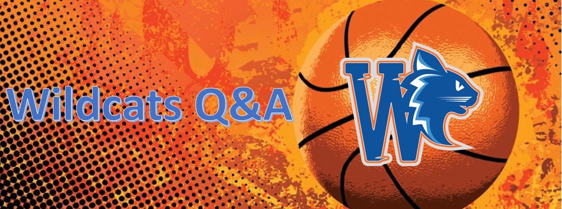Wildcats Q&A: Coach Kristof van de heren B