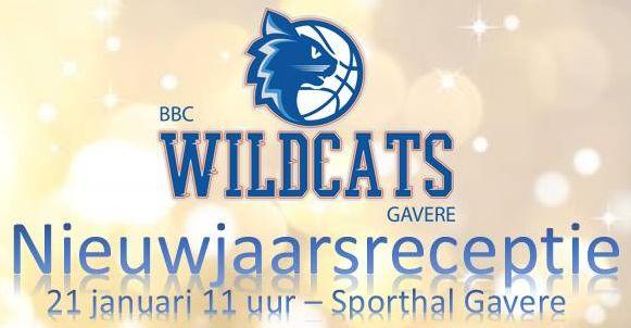Nieuwjaarsreceptie- 21 januari - 11:00 - Sporthal Gavere